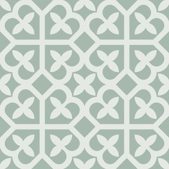 Seamless vintage flower pattern background.