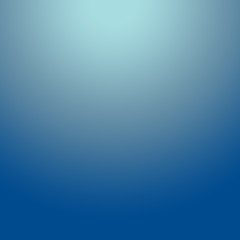Gradient Blue abstract background.