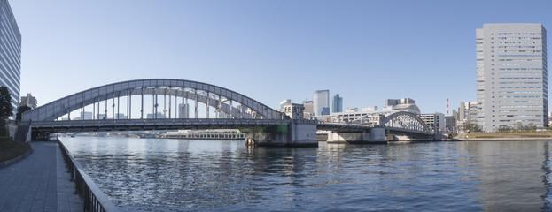 東京風景(勝鬨橋)