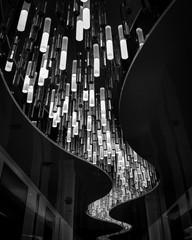River of crystal light decoration