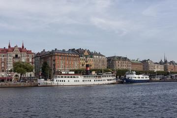 Stockolm. City landscape. Old Town. Sweden.