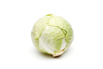 round cabbage green