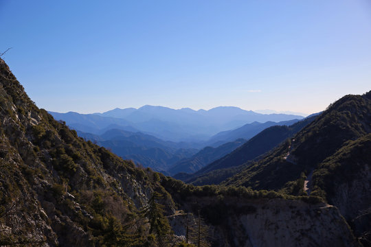 From Mount Wilson to Mount Lowe, San Gabriel, Angeles National Forest, Southern California