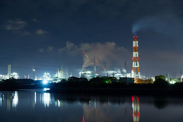 Industry complex in Mizushima city