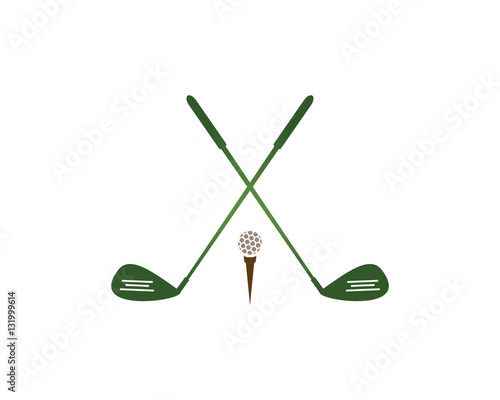 golf logo template stock image and royalty free vector files on pic 131999614. Black Bedroom Furniture Sets. Home Design Ideas