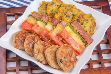 Korea pancake ( jeon ) - korean food