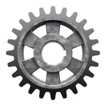 3D model of gear transmission element