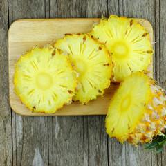 Pineapple slice.