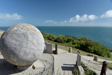 Garden Poster Central America Country The Globe at Durlston Country Park near Swanage