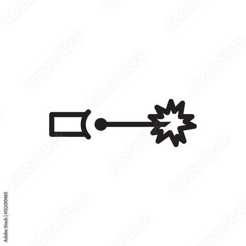 """electric circuit icon vector"" Stock image and royalty ..."