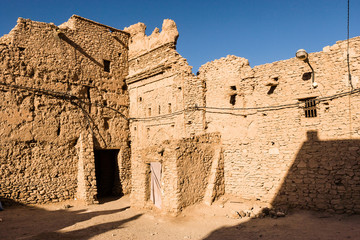 Kasbah of Tissinnt at N20, Morocco