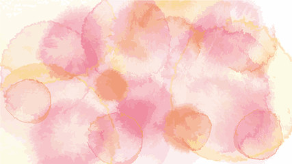 old rose pastel tone color vector background look like watercolor drop style