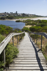 Board Walk, Hindmarsh River Mouth, Victor Harbor, Fleurieu Penin