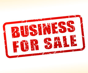 business for sale text buffered