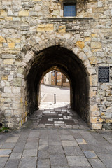 Fototapeta Westgate Tunnel inside Tower Southampton England