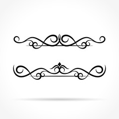 ornaments design on white background