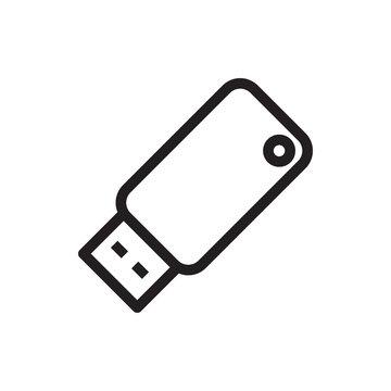 usb drive icon illustration