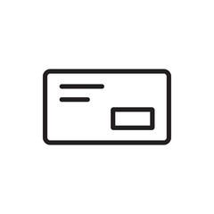 envelop icon illustration