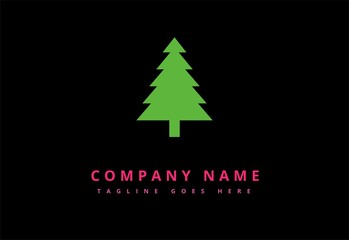 christmas tree green logo