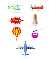 modes of air transportation