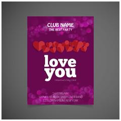 Happy Valentines Day Brochure.