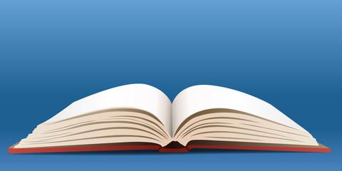 Livre ouvert - littérature, lire, écrire, enseignement
