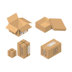 Move service box vector illustration
