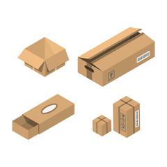 Move service box vector illustration