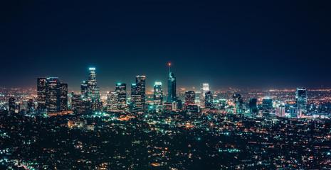 City night landscape modern building cityscape light background photo stock