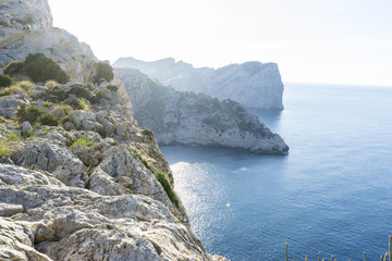 Formentor by the Mediterranean sea on the island of Ibiza in Spa