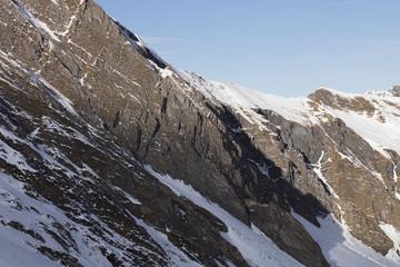 Ski Austria, glacier. Winter sports theme.