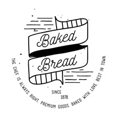 Bakery Label Design