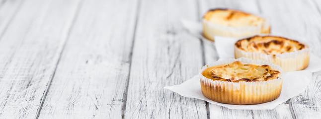 Cheesecake (selective focus, close-up shot)
