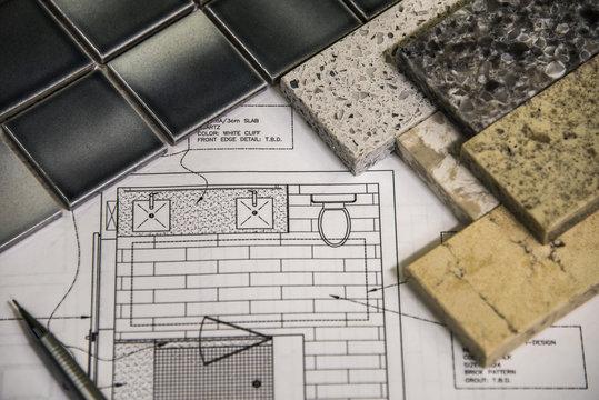 Bathroom Renovation Material Selection Floor Tiles Countertops and Design