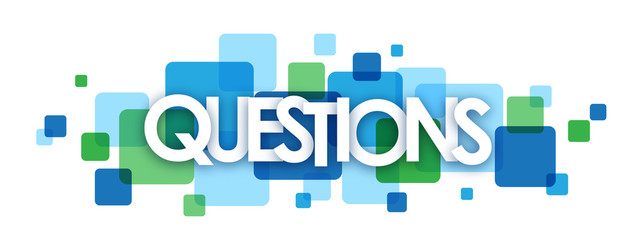 QUESTIONS letters icon