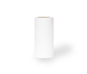 white paper tube on white background