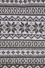 vertical background patterned jacquard knitted fabric closeup