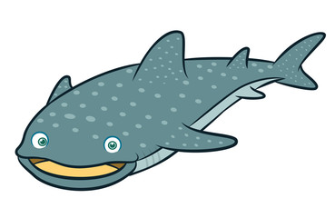 Whale Shark Cartoon