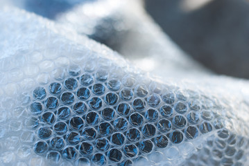 Plastic Bubble Cushioning Wrap