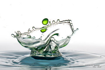 Wassertropfen Tropfenfoto