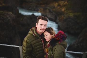 Love Story on Bridge