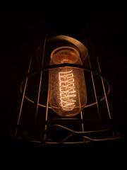 Vintage light bulb detail