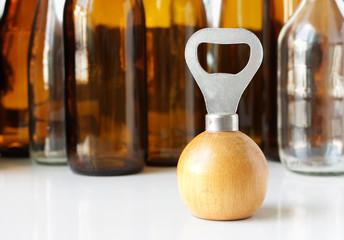 Bottle Opener Wooden Handle