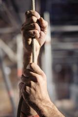 mains d'hommes
