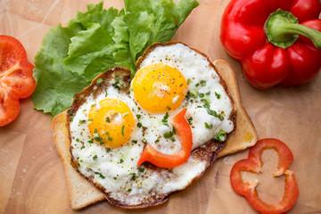 Gute Laune Frühstück