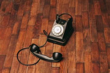 retro machine old phone