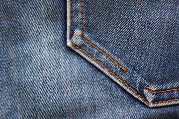 Denim background.