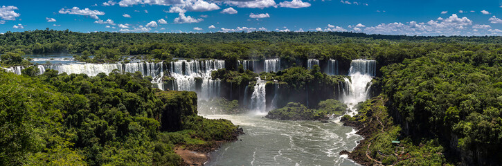View of the Iguazú Falls