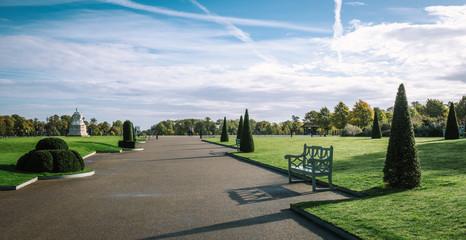 Kensington Gardens in London, United Kingdom