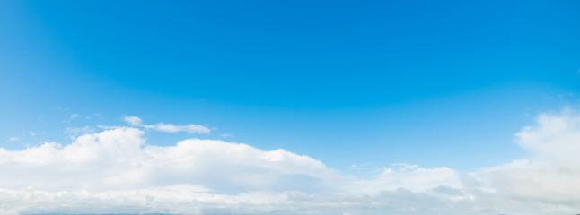 white soft clouds